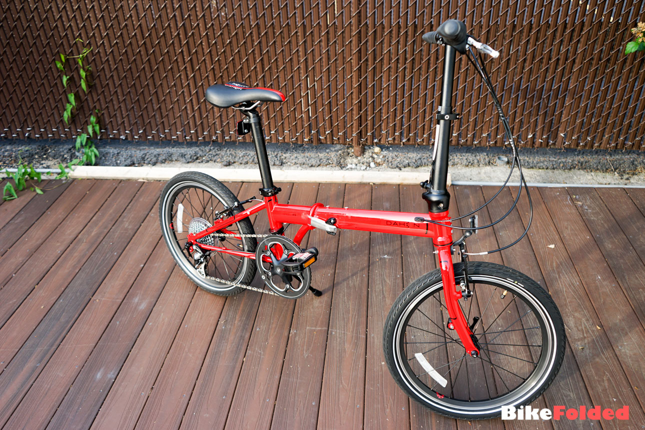 Dahon Speed P8 Folding Bike Review Aesthetics And