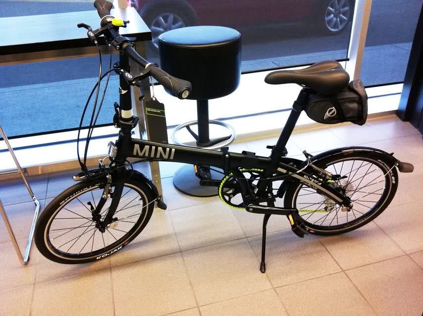 Mini Cooper Folding Bike Review