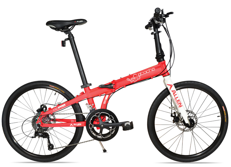 Allen Sports Atocha Folding Bike Review - Experiment with 24-inch Wheels