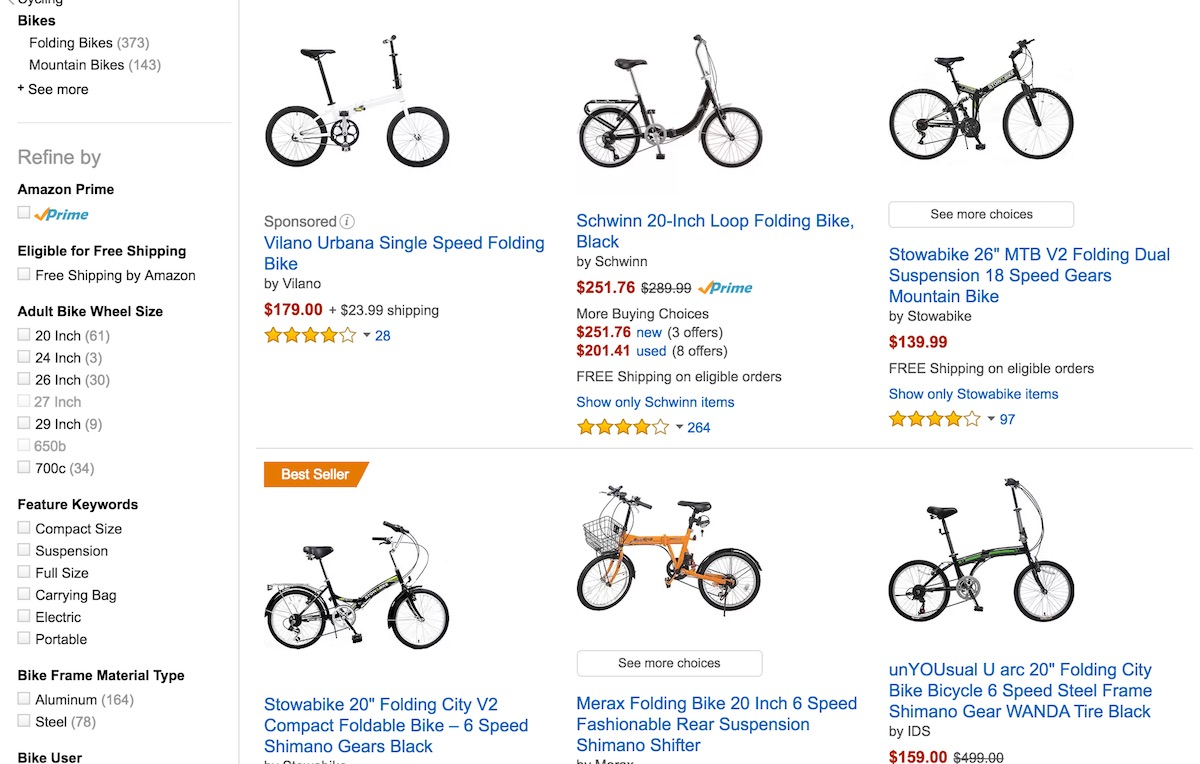 Top 5 Best-Selling Folding Bikes in the United States