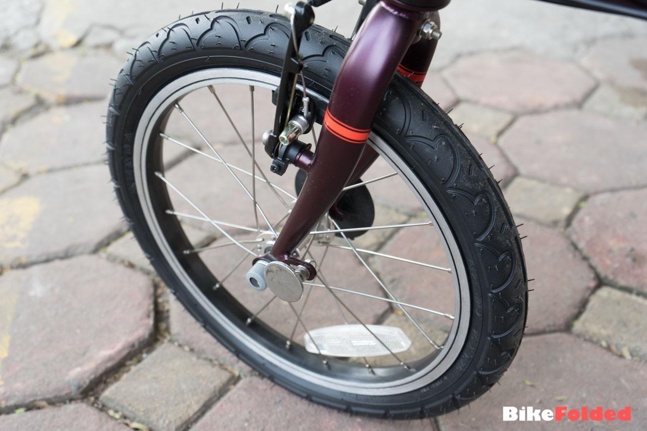Dahon Clic 3 Folding Bicycle Bicycle Modifications