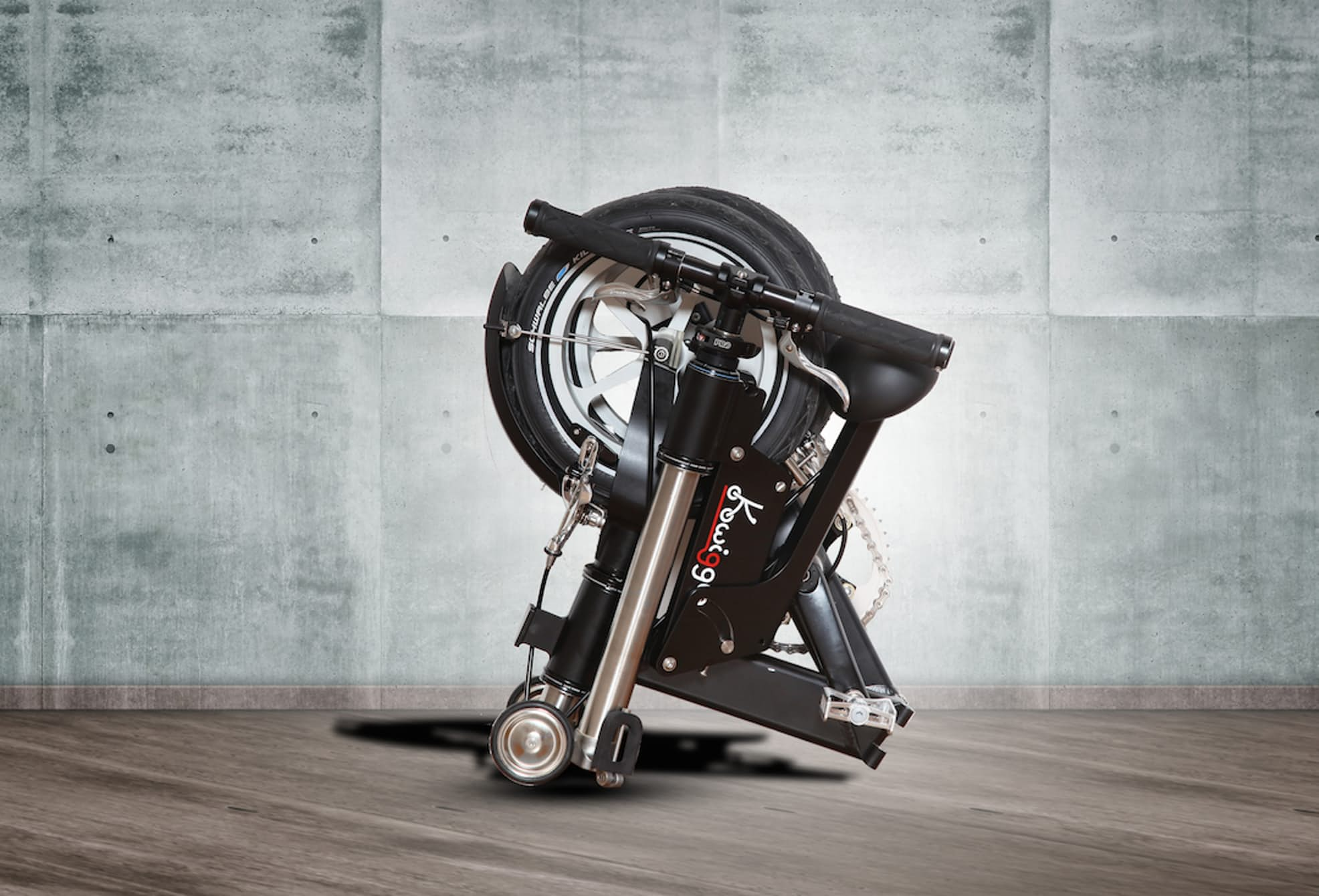 Quirky Kwiggle The World S Smallest Folding Bike