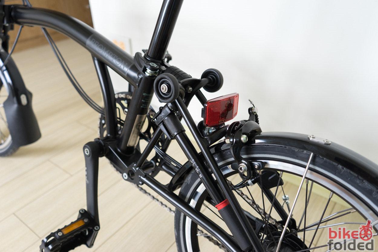 Brompton M6l Black Edition Folding Bike Review The