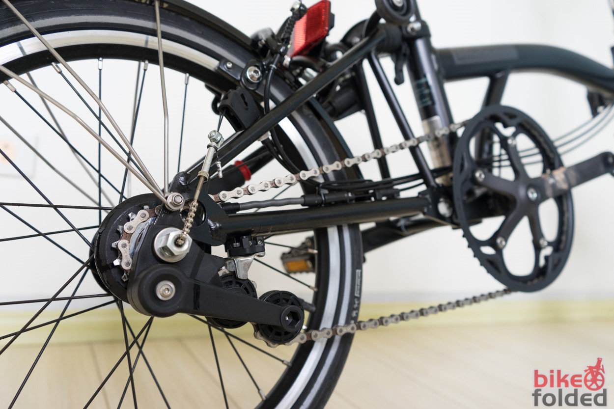 Gear Inches Of Brompton With Single Speed 2 Speeds 3 Speeds And