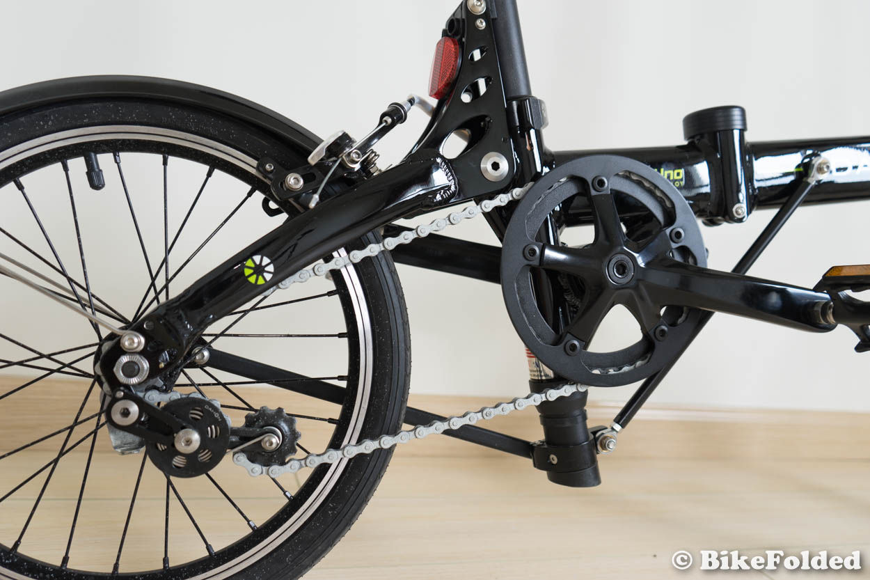 Dahon Jifo Uno Folding Bike Review An Ultra Small Folder