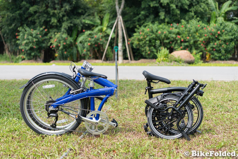 Oyama CX-9 Folding Bike Review - 24\