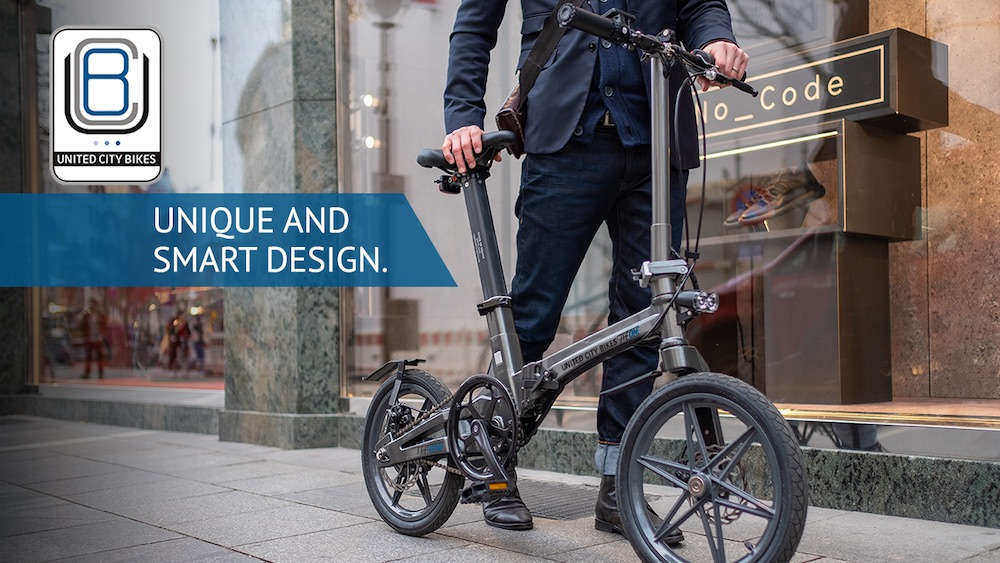 The One Folding Electric Bike by United City Bikes